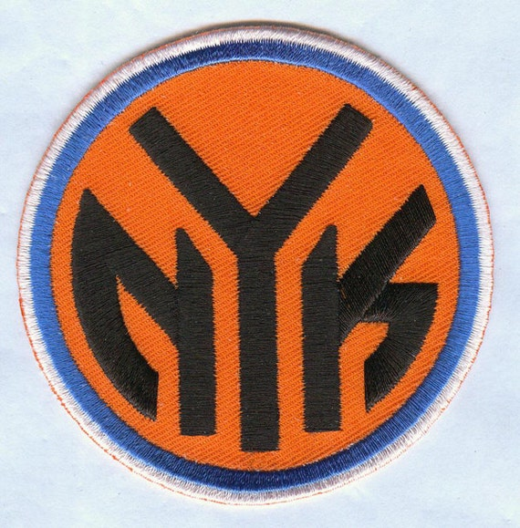 Nba Basketball New York Knicks: NBA New York Knicks Basketball Embroidered Patch By WorldMart11