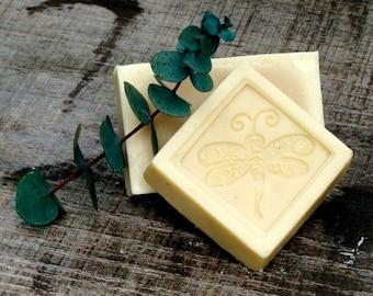 Decorative Handmade Organic Goats Milk Eucalyptus Soaps