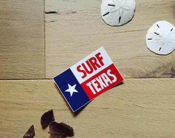 Surf Texas Sticker