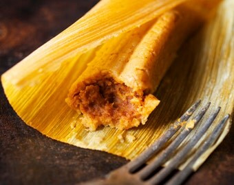 Authentic Bean Tamales (1 dozen)