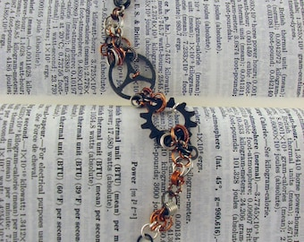 Steampunk Chainmaille Bracelet