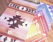 Printed Yoga Mat from Hand Painted Designs | South x West Mat