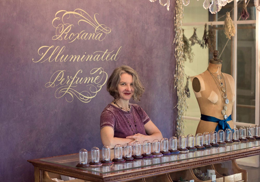 Inspiring Workspaces: Illuminated Perfume