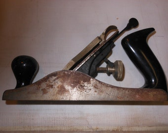 SoJo Sogard Hand Finish Plane Wood Worker Tool Found Object Display