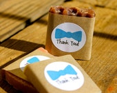Baby Boy Shower Favors, Mini Soap Assortment, Bow Tie Design