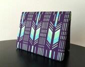 Card Wallet - Purple Arrow