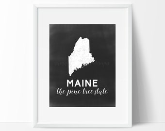 Maine Printable