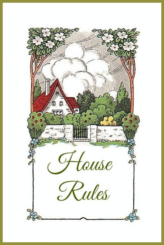 House Rules - Digital Download