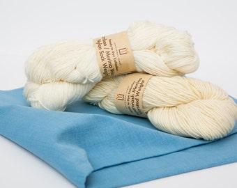 Ready-to-Dye Superwash Merino Worsted Yarn