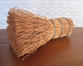 Vintage Straw Whisk Pot Scrubber