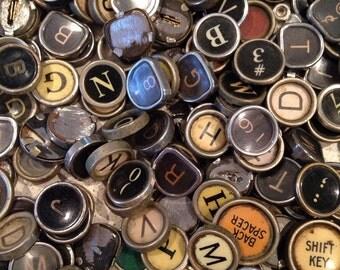 Vintage TYPEWRITER Key One Random Key
