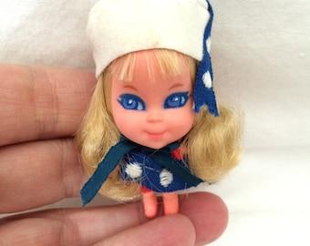 1966 Mattel Liddle Kiddle Lorelei Locket Doll Toy