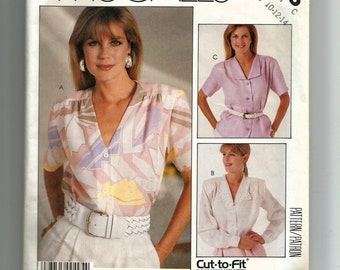 McCall's Misses' Blouse Pattern 2915