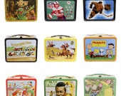 Retro Lunchbox Magnet - Muppet Show, football, Hockey, Partridge Family, Peanuts, Flintstones, Pele, Puff Magic Dragon, Sports, Vintage TV