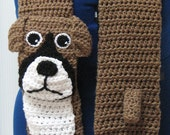 Boxer Scarf Crochet Pattern