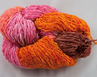 BERRY SPICE Handpainted 1450 ypp Rayon Chenille