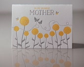 Letterpress Mother Nature Card