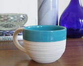 SHOP SALE Groove Mug in Blue
