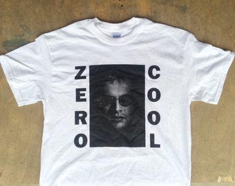 Zero Cool : Hackers / Sonic Youth Tee Shirt