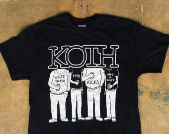 KOTH - White Trash, Two Hicks and a Nut : KOTH / NOFX Tee Shirt