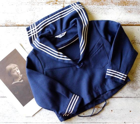 1940s Good Lad Sailor Top