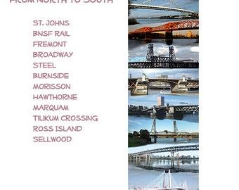 12 Portland, Oregon Bridges Spanning the Willamette River