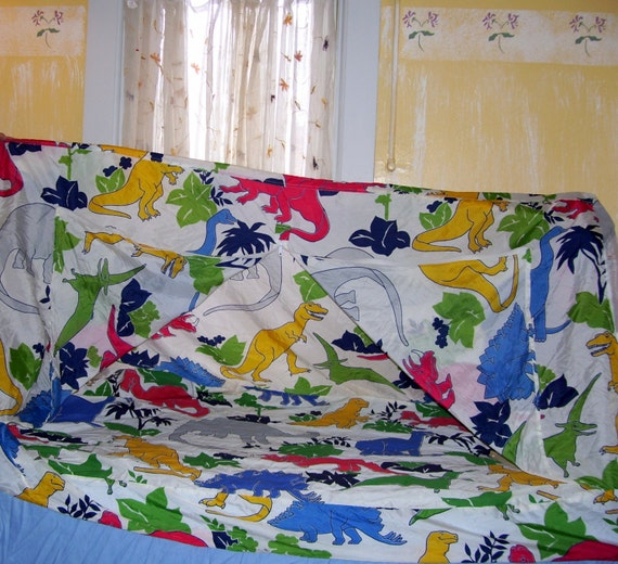 Dinosaur Tent Kids Room Bed Tent Dino Slumber Party Tent