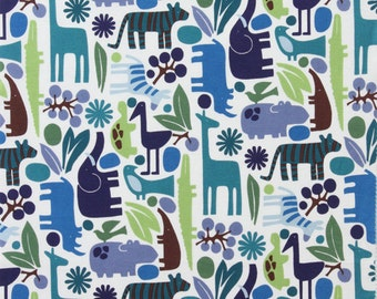 Alexander Henry 2D Zoo Pool Fabric - 1 Yard