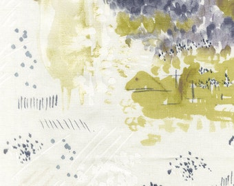 Japanese Fabric Nani Iro Spectacle canvas  - good morning - 50cm