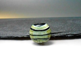 Handmade Lampwork Focal Bead  by GlassBeadArt   ... SRA F12