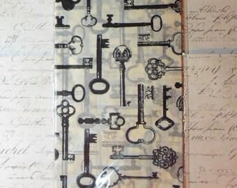 7 Gypsies: Collage Tissue  - Keys