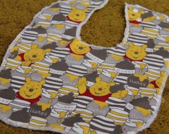 Winnie the Pooh Honeypot Baby and Toddler Bib