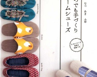 All Season Handmade Room Shoes - Japanese Craft Book