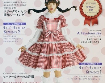 Gothic Lolita Fashion Book Vol 7 - Japanese Craft Book