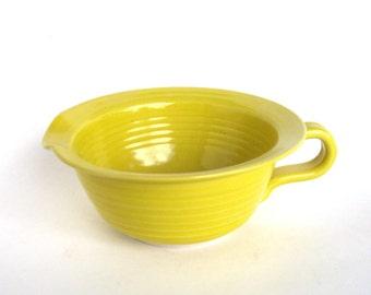 Batter Bowl  -   Yellow Glaze