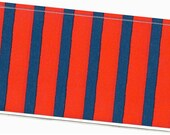 Checkbook Cover - Red and Blue Stripes duplicate check book cover 6a