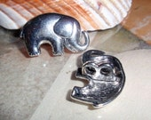 Elephant 2 Hole Button Charm Closure Findings-6 OVERSTOCK/WHOLESALE