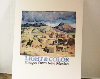 Art Book Painting Masterpieces 'Light & Color Images New Mexico' Museum of Fine Arts New Mexico Press 1981