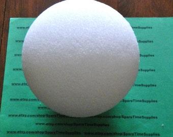 """BA6 Styrofoam Ball - approx. 6"""" diameter - white - 1 pc"""