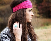 Solid Pink Headband, Stretchy, Beautiful Solid Color Basic!