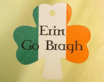 Erin Go Bragh Shamrock Air Freshener