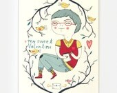 Valentines Boy - Greeting Card