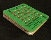 Vintage KLeer KwiK/AUTO-MAGIC Bingo King Bingo Book (Small Green/White Paper)