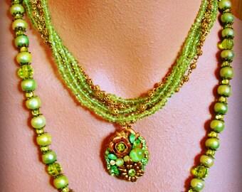 SUMMER FIELDS statement necklaces