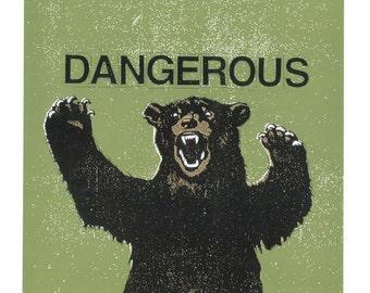 Dangerous -  Screen Print by Print Mafia
