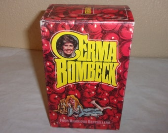 ERMA BOMBECK-Set of Four Paperback Books with Case-1970s