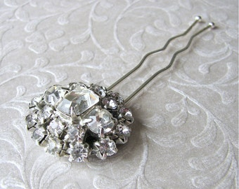Rhinestone Jewelry Bridal Headpiece Bridesmaid Hair Comb Ballroom Hairpiece Pageant Hairpin Bohemian Chic Vintage Bride Downton Gatsby