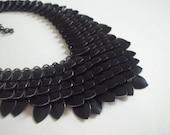 Night Fury Black Dragon Scale Necklace