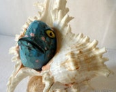 Original Sea Art - Mixed Medium Piece - Unreal Eel