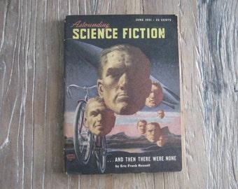 June 1951 Astounding Science Fiction Magazine